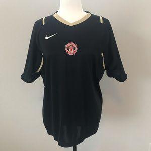 Nike Drifit Manchester United soccer sport shirt